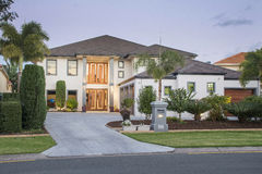 Luxury Homes Royalty Free Stock Images