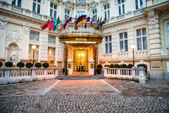Luxury international european hotel Royalty Free Stock Photos