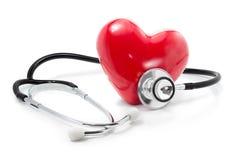 Lyssna till din hjärta: hälsovårdbegrepp Royaltyfri Foto