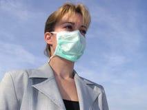 Máscara médica Foto de archivo libre de regalías