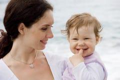 madre della figlia Fotografie Stock Libere da Diritti