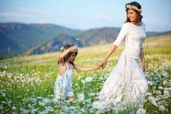 Madre felice con il suo bambino Fotografia Stock Libera da Diritti