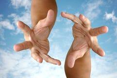 Magic hand. Royalty Free Stock Photography