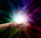 Magical Healing Energy Royalty Free Stock Photography