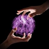 Magical orb Royalty Free Stock Photography