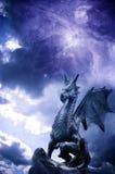 Magische draak Royalty-vrije Stock Afbeelding