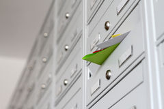Mail advertising materials Stock Image
