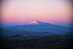The majestic Mount Etna Royalty Free Stock Images