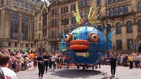 Manchester Day Parade Stock Photo