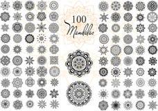 Mandala Card Set Stock Image