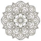 Mandala. Round Ornament Stock Photo