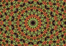 Mandala van de appel Stock Fotografie