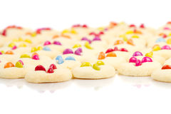 Many colorful cookies Royalty Free Stock Photo