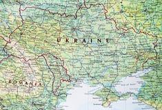 Map of Ukraine Stock Photos
