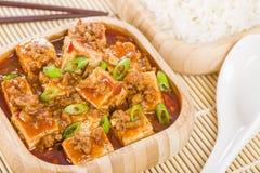 Mapo Tofu Royalty Free Stock Image
