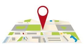 Maps navigation Royalty Free Stock Photo