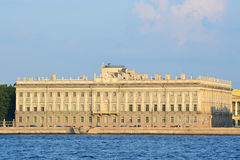 Marble Palace in St.Petersburg Stock Photo