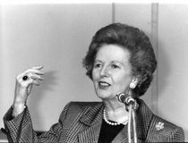 Margaret Thatcher Royalty Free Stock Photography
