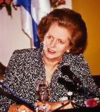 Margaret Thatcher Royalty-vrije Stock Afbeeldingen