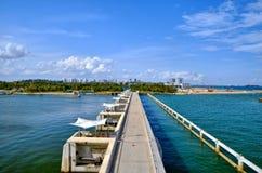 Marina Reservoir and Barrage, Singapore Royalty Free Stock Photo