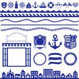 Marine decoration Stock Image