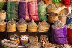 Marokkaanse kruiden en kruiden Royalty-vrije Stock Fotografie