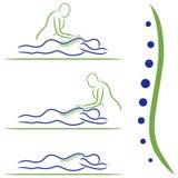 Massage Treatment Royalty Free Stock Photography