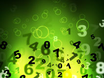 Mathematics Calculate Means High Tec And Computer Royalty Free Stock Photo