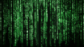 Matrix background Royalty Free Stock Photos