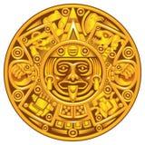 Mayan calendar Stock Photos