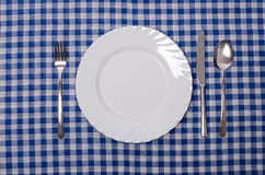 Meal setting Stock Image