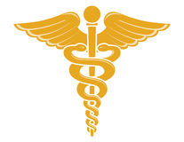 Medical Caduceus Symbol Royalty Free Stock Image