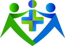 Medical care logo Stock Images