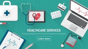 Medical desktop Stock Images