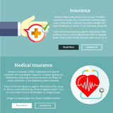 Medical and Health Insurance Stock Image