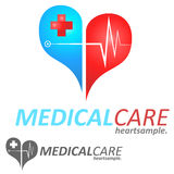 Medical Logo Concept Stock Images