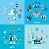 Medical Personnel Set Royalty Free Stock Images