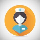 Medical Treatment Nurse Symbol Female Physician Royalty Free Stock Image