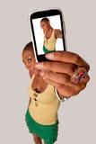 Meisje Selfie Royalty-vrije Stock Foto