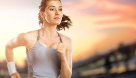 Meisje in sport Royalty-vrije Stock Afbeelding