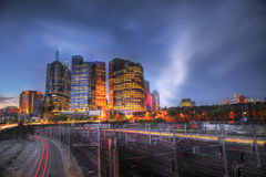 Melbourne Skyline Royalty Free Stock Photos