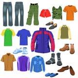 Men clothes Royalty Free Stock Photos