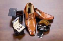 Men's accessories Royalty Free Stock Photos