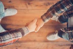 Men shaking hands. Stock Image