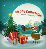 Merry Christmas Holidays Background Stock Photography
