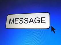 Message Button Stock Images