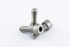 Metal screws Royalty Free Stock Photography