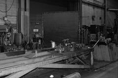 Metal work machines Stock Image
