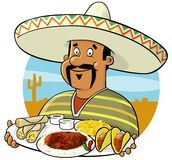 Mexican Chef Stock Image