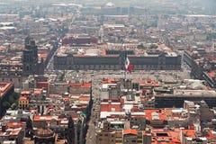 Mexico-City Zocalo Royalty-vrije Stock Foto's